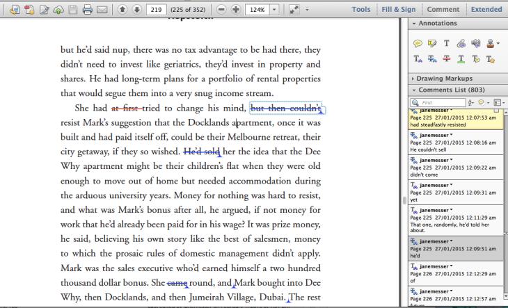 Screen Shot typset pdf page Hopscotch