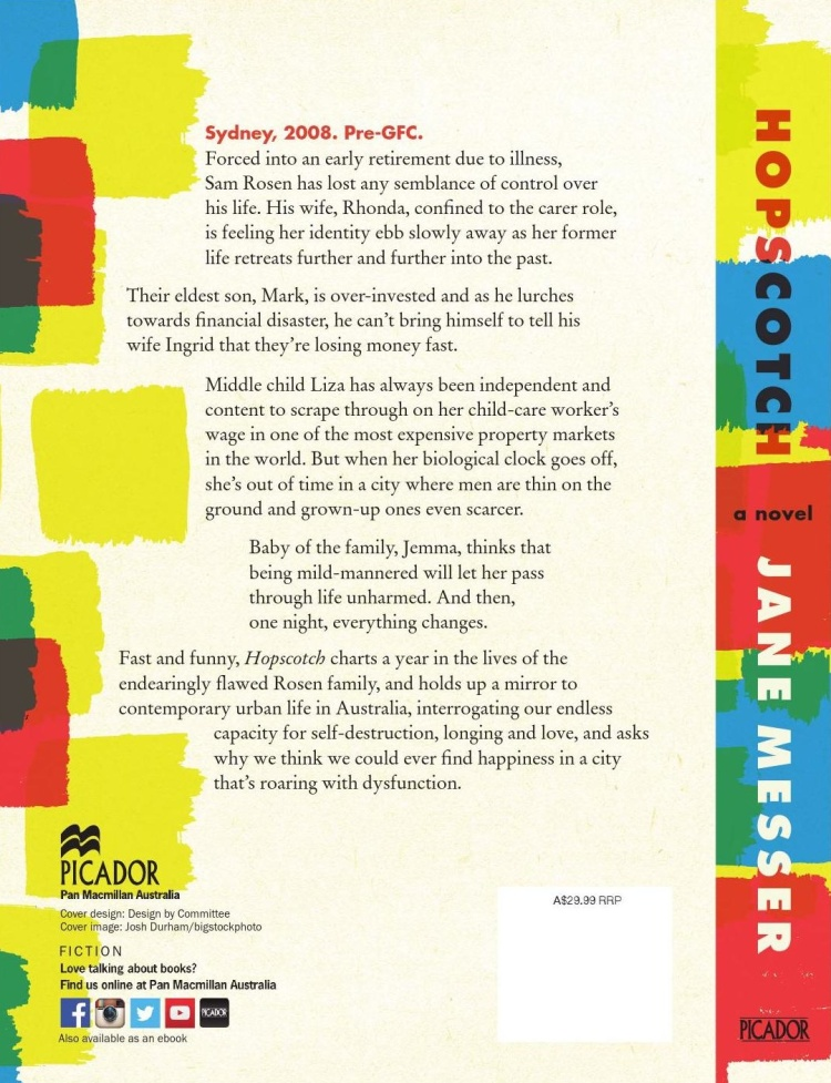 Hopscotch back cover